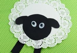 Sheep-Craft-from-Doilies
