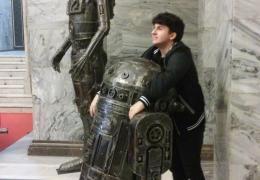 Stalowe rzeźby 1