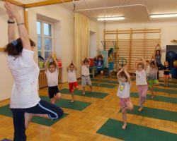 Zajęcia jogi