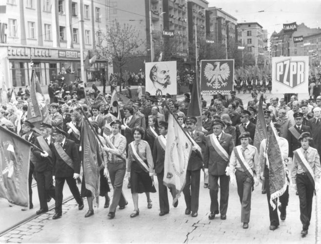 Pochód Pierwszomajowy Wrocław 1979 R. 1