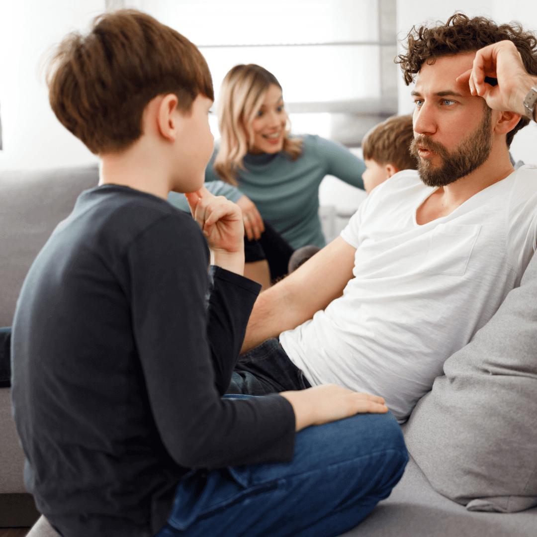 rozmowa z dzieckiem o covid